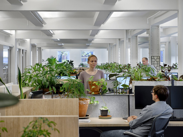 A Greener, More Healthful Place to Work