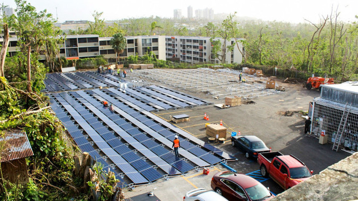 Tesla Turns Power Back On At Children's Hospital In Puerto Rico / The Two-Way / NPR