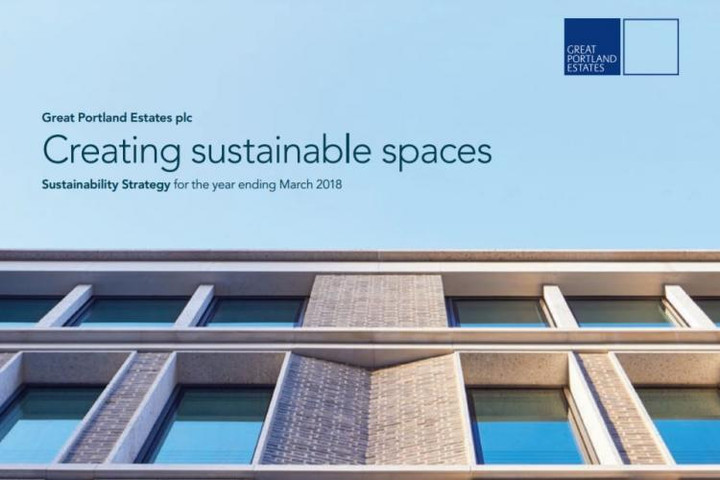 Great Portland Estates' launches 'Creating Sustainable Spaces' strategy