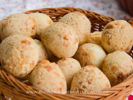 Pão de queijo vegano