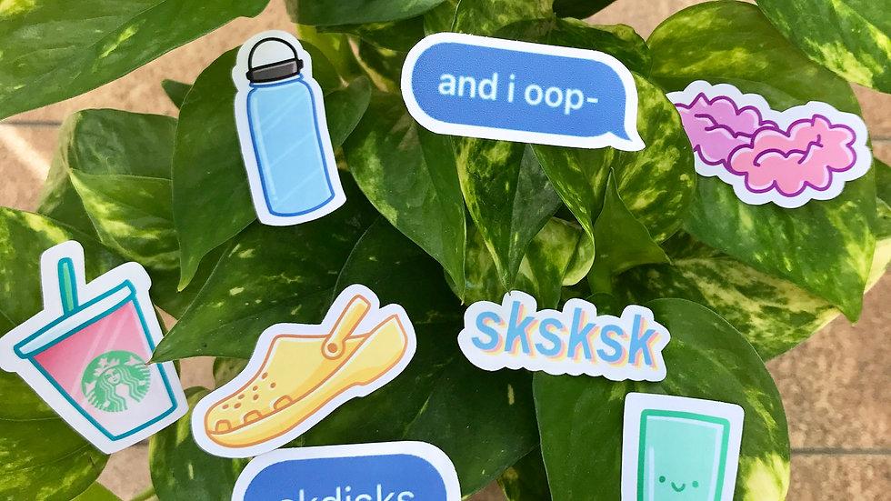 VSCO sticker pack