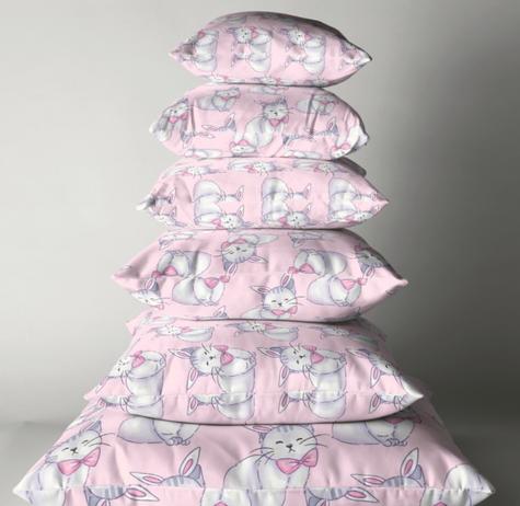 Bunny Cat Floor Pillow