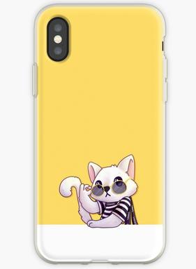 Chanel Cat iPhone case
