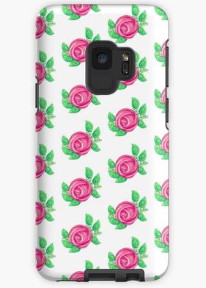 Slime Rose Samsung Galaxy Phone Case
