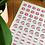 Thumbnail: Mini Happy Mail Stickers (63)
