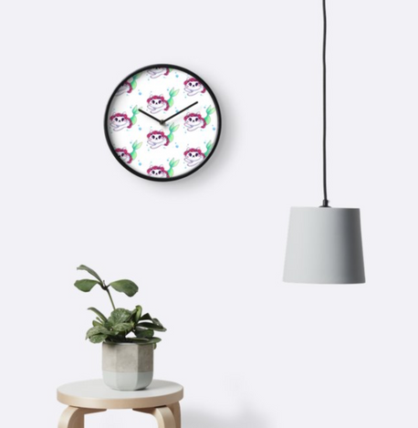 Purr-maid Clock