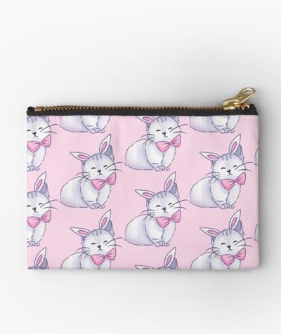 Bunny Cat Studio Pouch