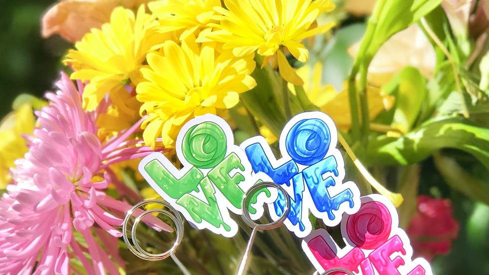 Love Slime Sticker
