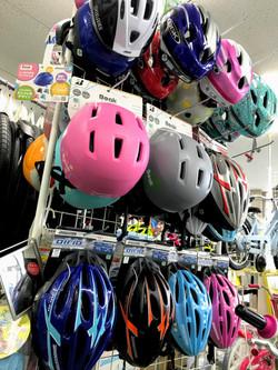 幼児用、小学生用ヘルメット