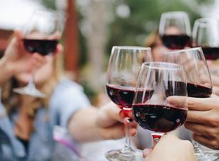 ワインの乾杯