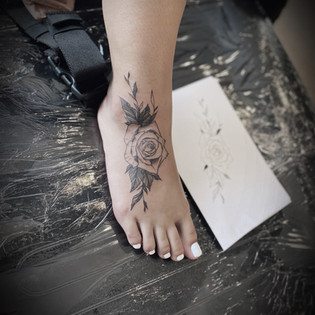 Rose florals