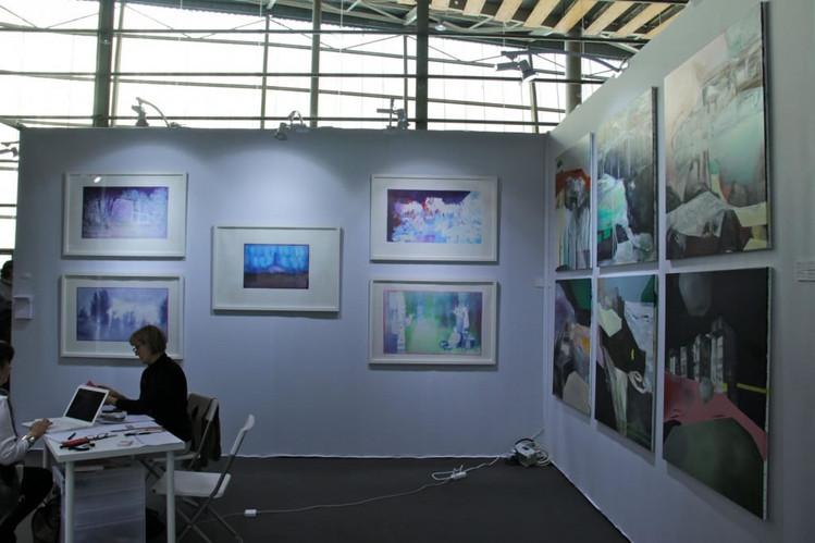 Stand Arielle d'Hauterives galerie