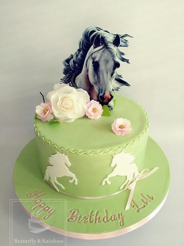Horses cake