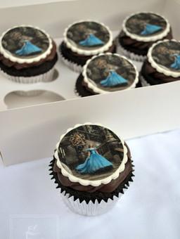 Cinderella cupcakes