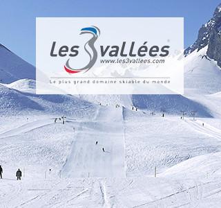 Station Ski 3 vallées