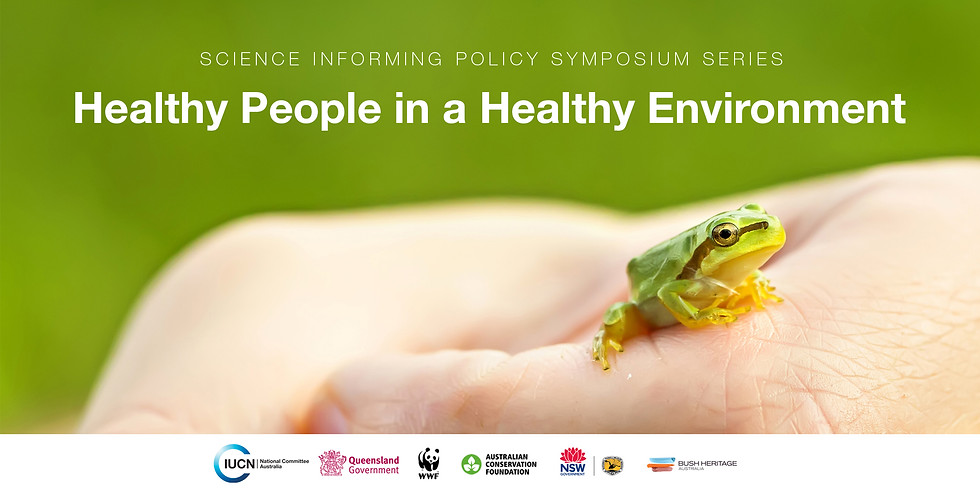 PAST - Healthy People in a Healthy Environment symposium