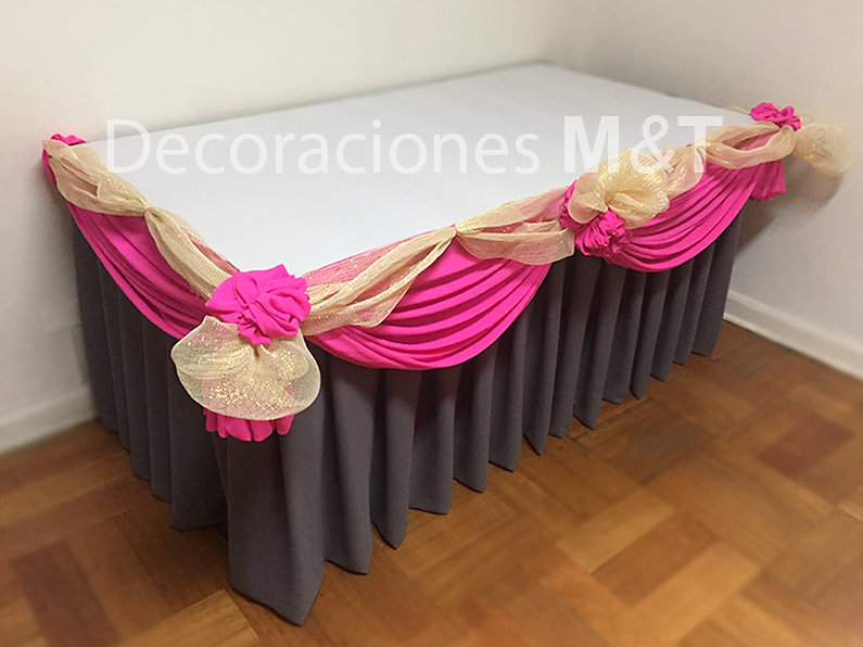 decoracin mesas con manteles