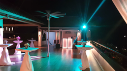 Lighting for a birthday party