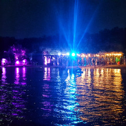 Beach Party Lighting