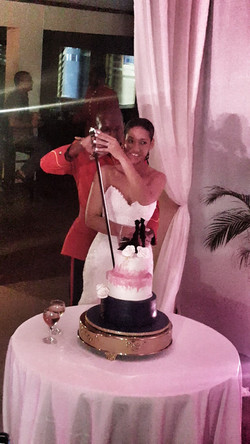 Cake Cutting, Military Style