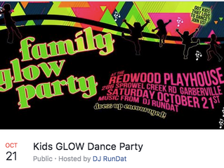 FAMILY GLOW PARTY