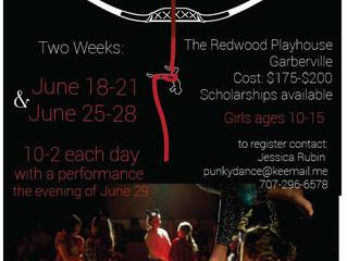 IN JUNE: Artemis Girls Camp.