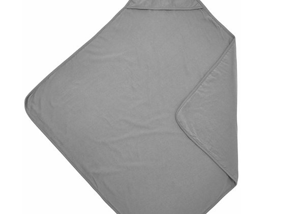 Wikkel/ badcape basic jersey grijs