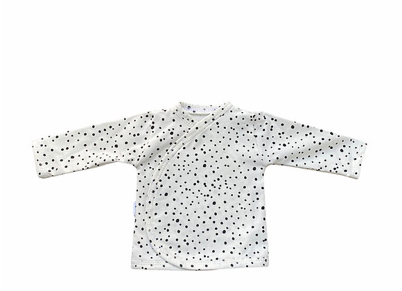 Prematuur overslag shirtje dots