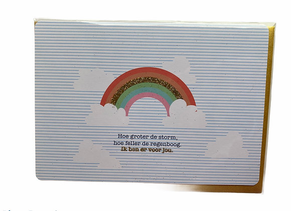Kaartje regenboog