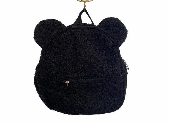 Berenvriendje zwart (met naam geborduurd)