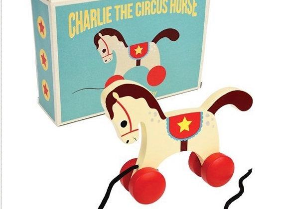 Charlie the horse - trekspeelgoed