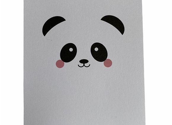 Kaartje baby panda