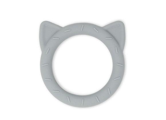Teether cat grey