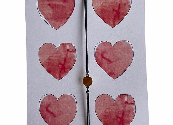Kaartje hearts