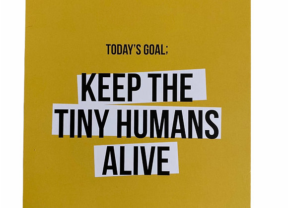 Kaartje Tiny human