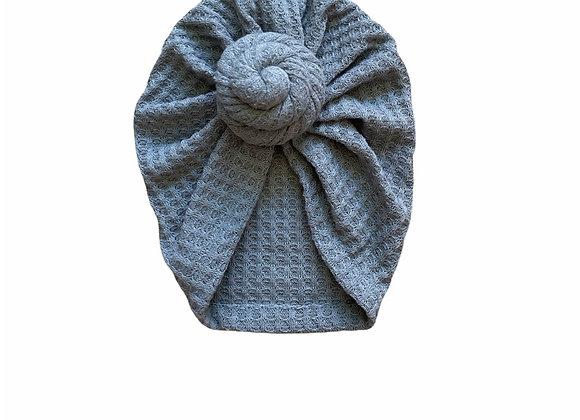 Turban summer grey