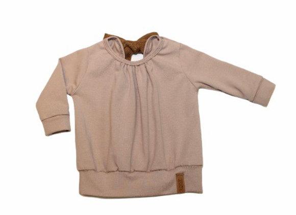 Sweater met rugdetail Nadieh