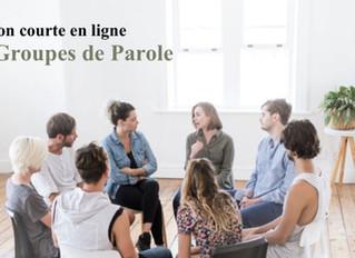 Nouvelle Formation en ligne : Animer des groupes de parole
