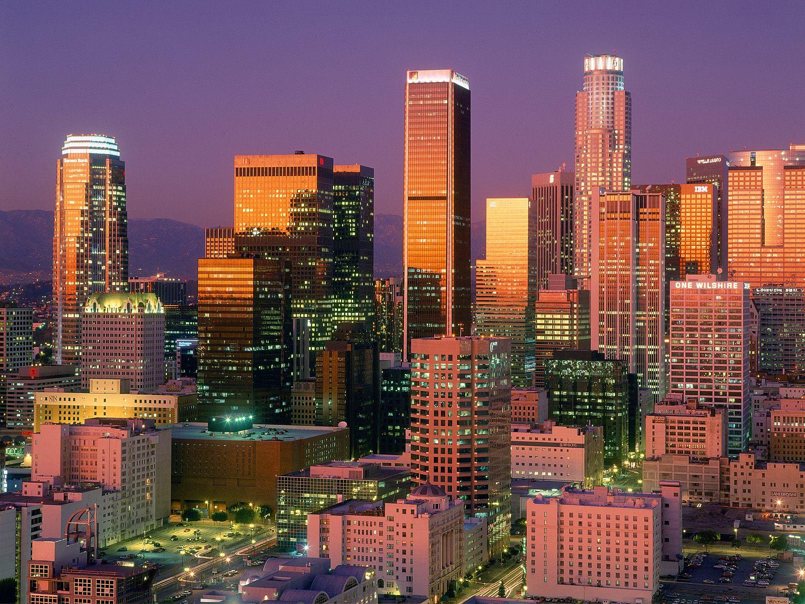 Los_Angeles_éclairée
