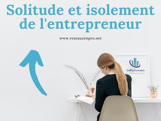Entreprendre ne doit pas être synonyme de solitude !
