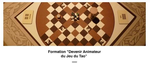 Formation Devenir Animateur du Jeu de Tao