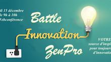 Participez à la Battle Innovation jusqu'à Vendredi !