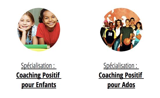 Spécialisation coaching pour enfants et adolescents