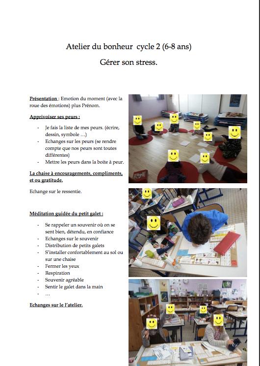 Atelier du Bonheur Enfants