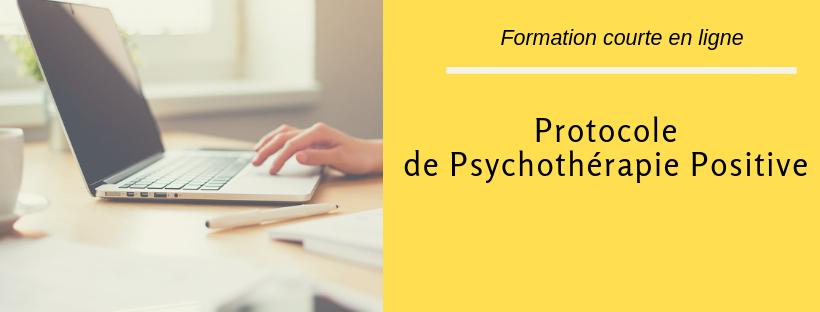 Protocole de Psychothérapie Positive