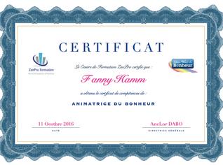 Fanny Hamm Animatrice Certifiée