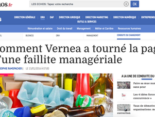 [Les Echos.fr] Une entreprise sauvée de la faillite grâce à la Psychologie Positive !