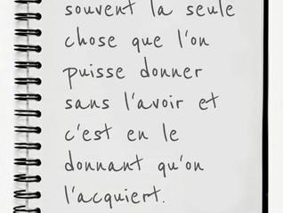 Citation du Bonheur