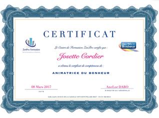 Animatrice du Bonheur Certifiée à Illange (57)