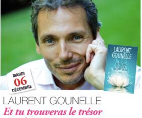 Venez à la rencontre de Laurent Gounelle